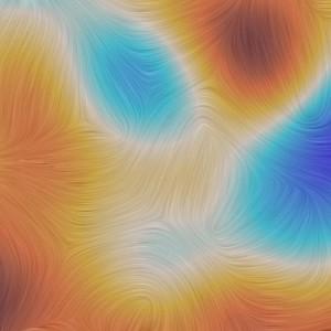 Perbesaran polarisasi CMB. Kredit: Planck/ESA