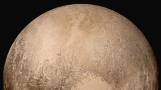 Belahan utara Pluto. Kredit: NASA/Johns Hopkins University Applied Physics Laboratory/Southwest Research Institute