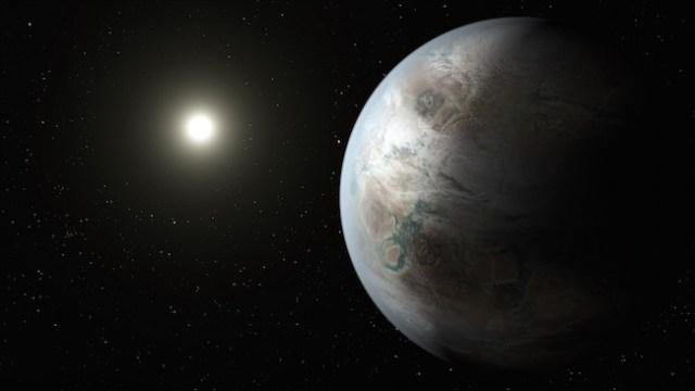 Ilustrasi Planet Kepler-452b. Kredit: NASA/JPL-Caltech/T. Pyle