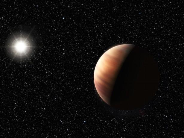 Ilustrasi saudara kembar planet Jupiter di bintang lain. Kredit: ESO/L. Benassi