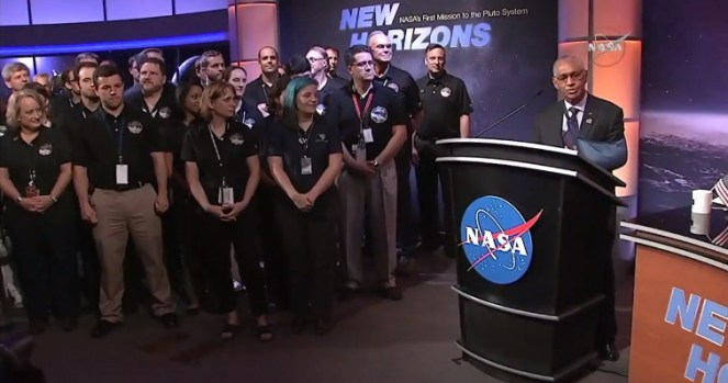 Tim New Horizons. Kredit: NASA