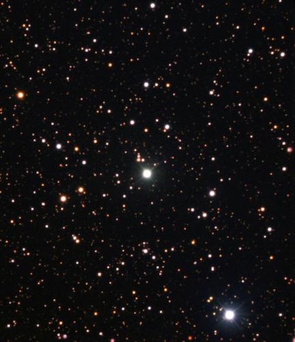 Nova Centauri 2013, ledakan yang melontarkan lithium. Kredit: ESO