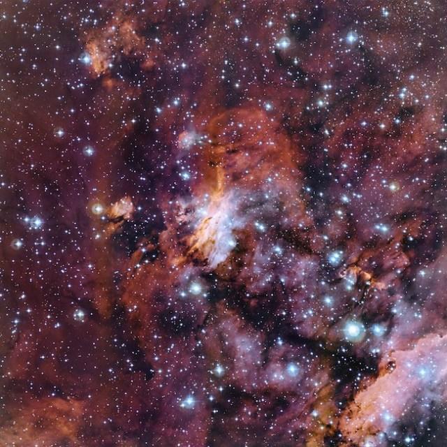 Nebula Udang, Kredit: ESO