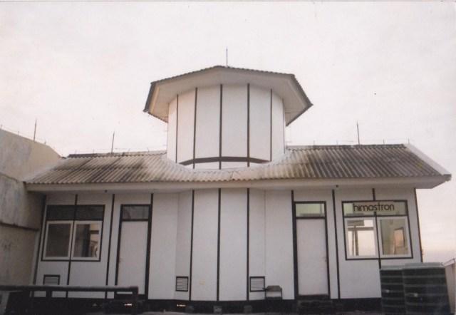 Bangunan sekretariat Himastron di Labtek III lt. 4 ITB. Kredit foto: Himastron