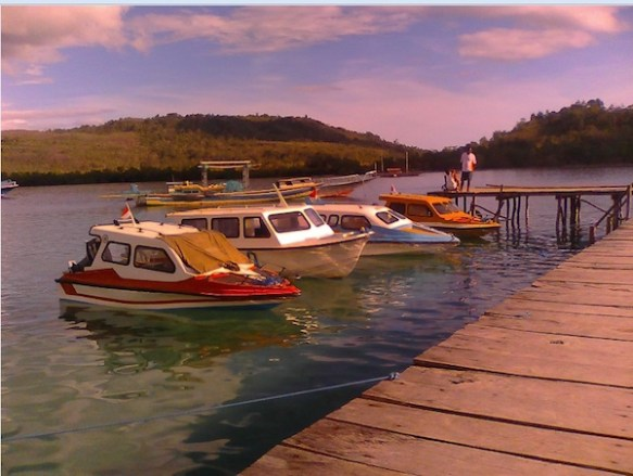 Pelabuhan Haria di Saparua. Kredit: Aldino A. Baskoro