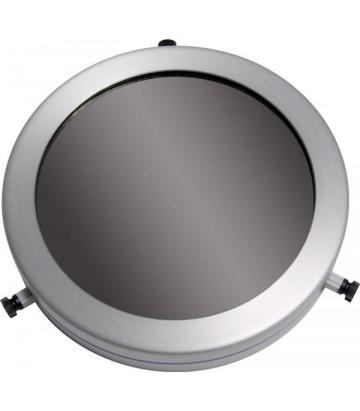 Jenis Filter Matahari. Filter Full Aperture, sangat direkomendasikan karena tidak merubah fokus teleskop saat filter dilepas, namun berharga paling mahal