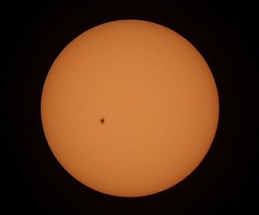 Bintik Matahari AR 2529. Kredit: Fikry Maulana