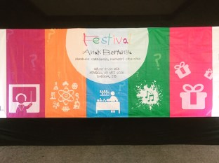Festival Anak Bertanya. Festival untuk anak yang diselenggarakan untuk kedua kalinya di Bandung. Kredit: langitselatan