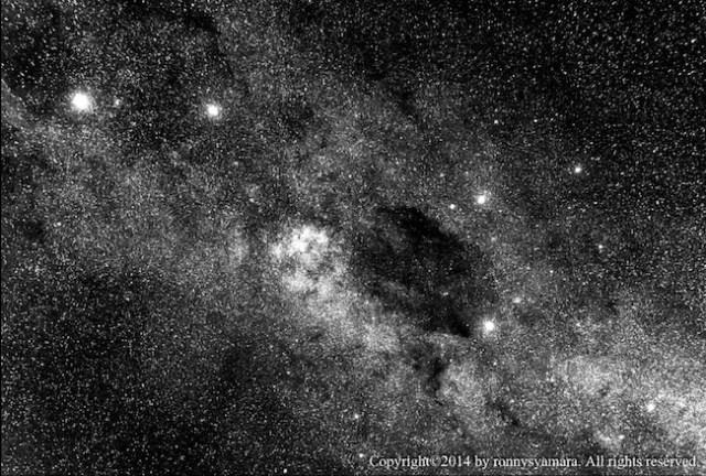 Kaki Sang Centaurus dan Rasi Salib Selatan. Fotografer: Ronny Syamara