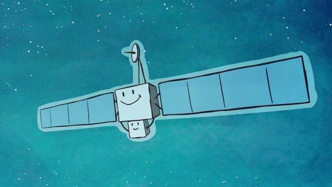 Ilustrasi Rosetta dan Philae. Kredit: ESA