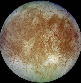Europa. Kredit: NASA
