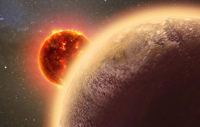 Ilustrasi exoplanet GJ 1132b. Kredit: Dana Berry / Skyworks Digital / CfA