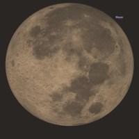 Gerhana Bulan Penumbra 11 Februari 2017