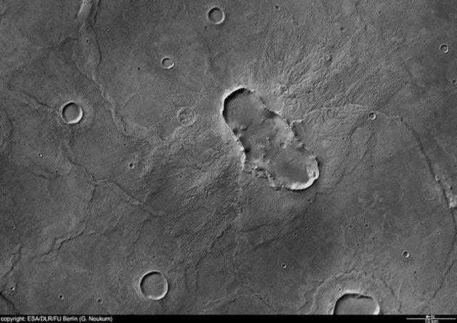 Hesperia Planum. Kredit: ESA