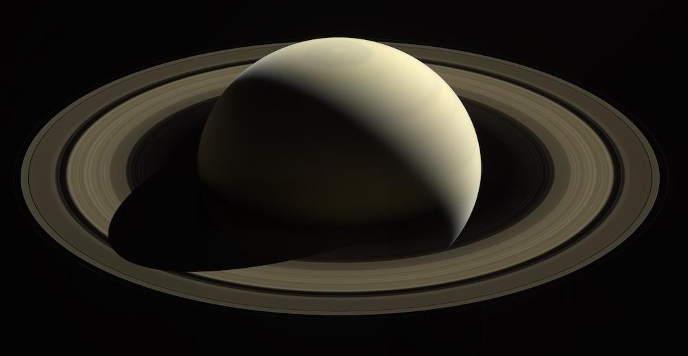 Saturnus yang dipotret Cassini. kedir: NASA/JPL-Caltech/Space Science Institute