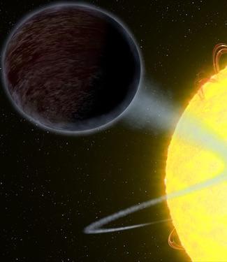 Planet Hitam Legam Pelahap Cahaya