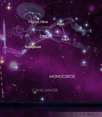 Hujan Meteor Orionid 2017