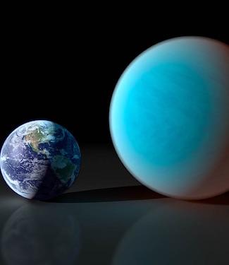 Atmosfer di Planet Bumi Super 55 Cancri e