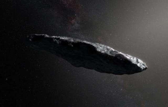 Asteroid antarbintang 'Oumuamua. Kredit: ESO/M. Kornmesser, CC BY-SA