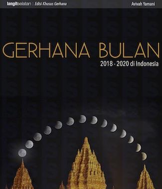 Buku Infografik Gerhana Bulan di Indonesia