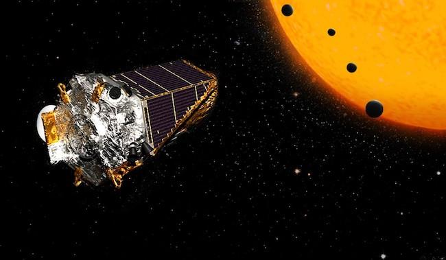 Teleskop Kepler yang sedang mengamati exoplanet di bintang. Kredit: NASA/JPL-Caltech