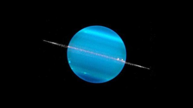 Uranus. Kredit: NASA