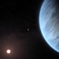 Jejak Uap Air di Atmosfer Exoplanet Neptunus Mini K2-18b