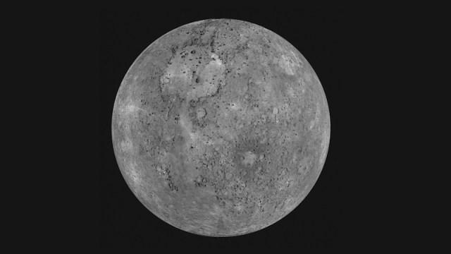 Planet Merkurius. Kredit: NASA