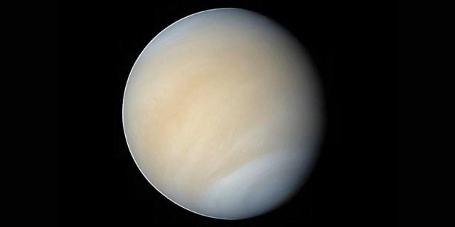 Planet Venus. Kredit: ESA - C. Carreau