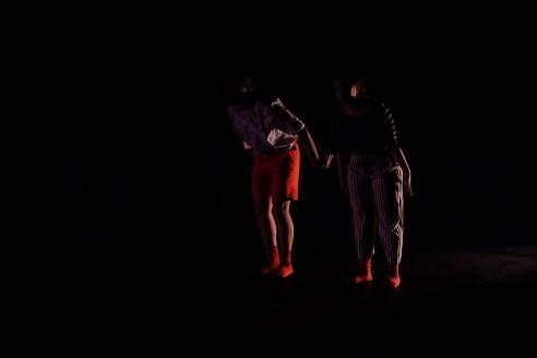"Mamad Hj Samsudin and Amellia Feroz in ""The Cabinet"", Impulse to Dance, penangpac, Penang, 2 May 2016. Photo © Joie Koo"