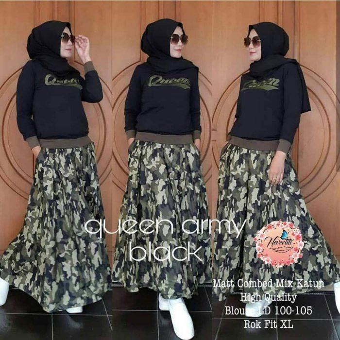 model celana hijab modern