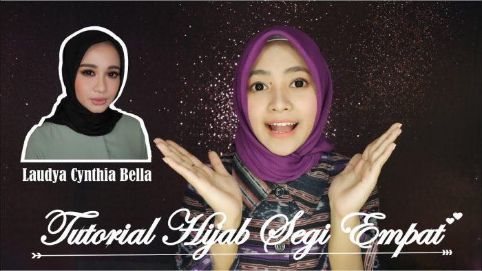 model hijab laudya chintya bella
