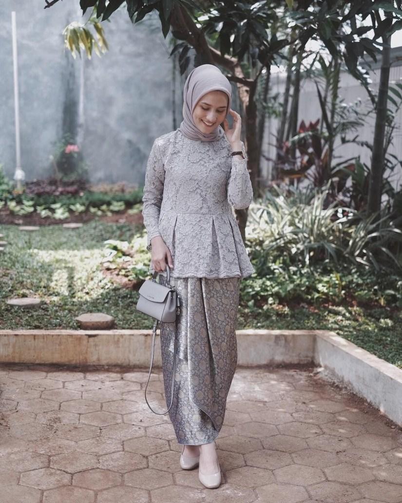 baju kondangan simple hijab casual