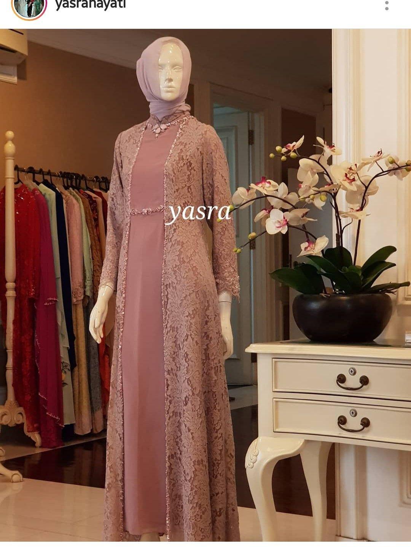 Dress dengan brokat