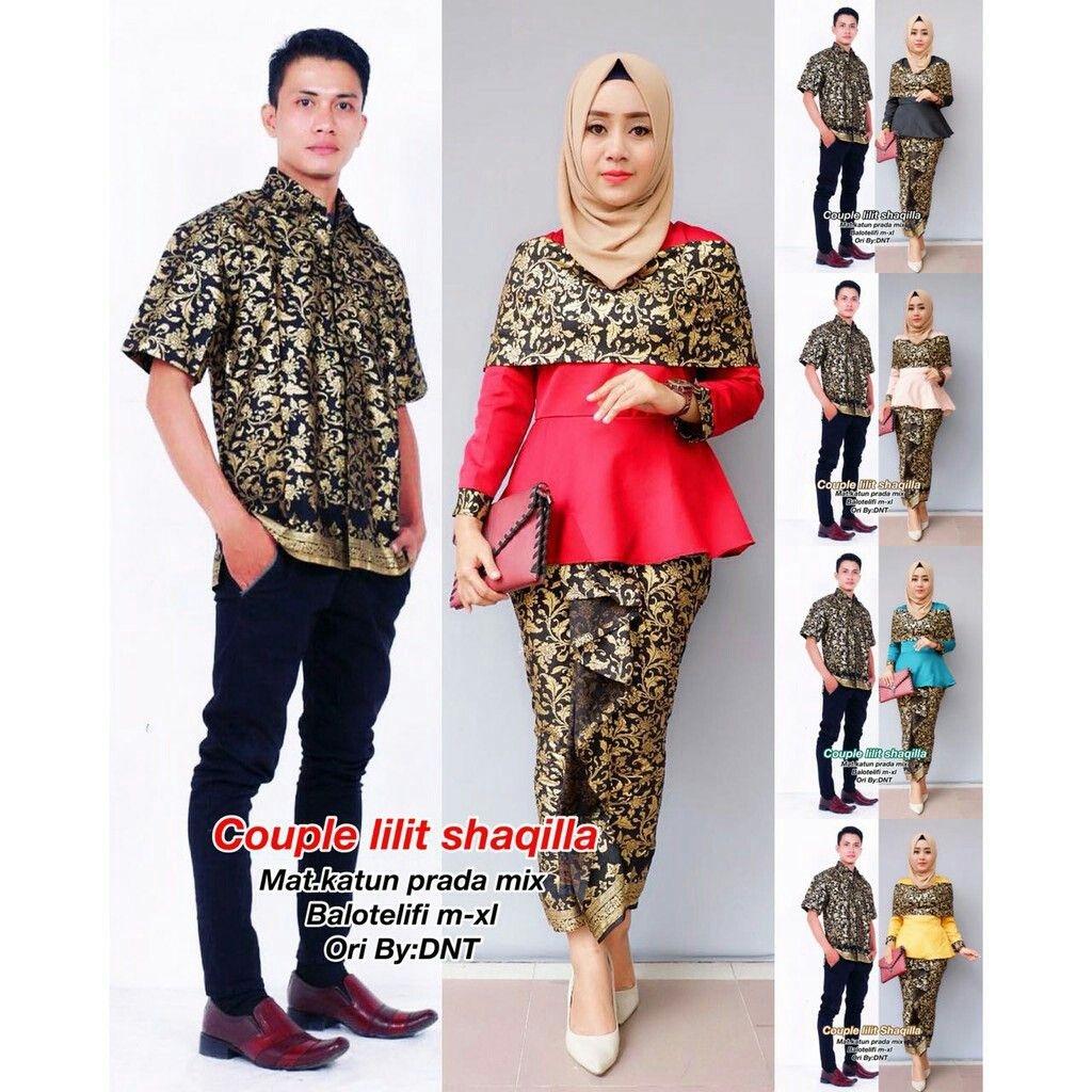 Gamis batik copule