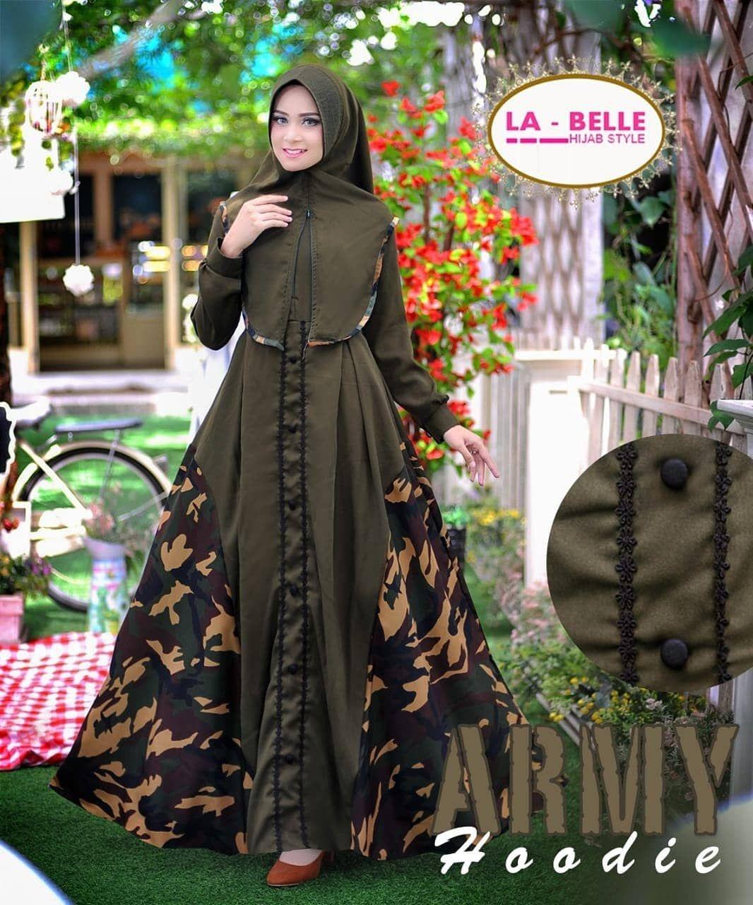 Gamis syar'i batik