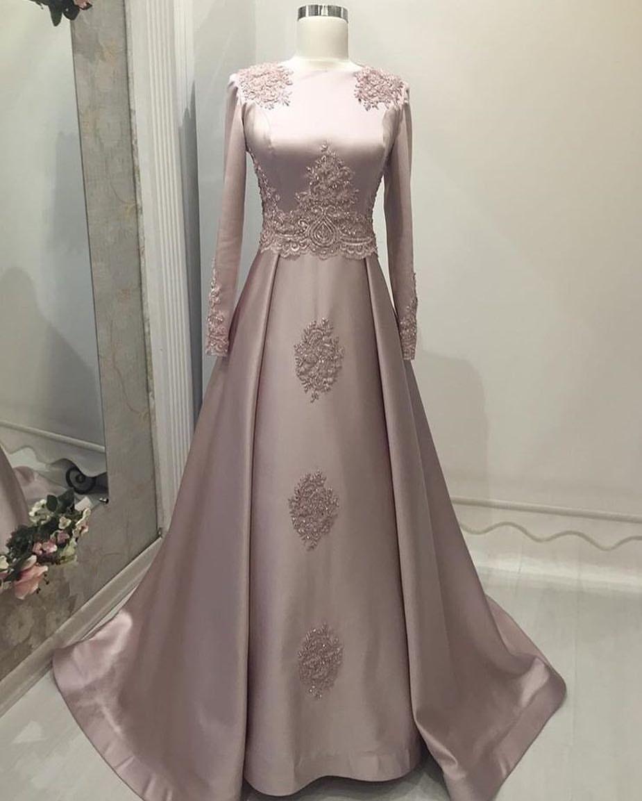 Gaun elegant untuk pesta