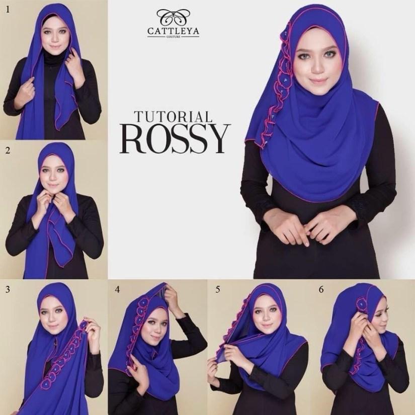 Hijab syar'i tutorial untuk sehari hari