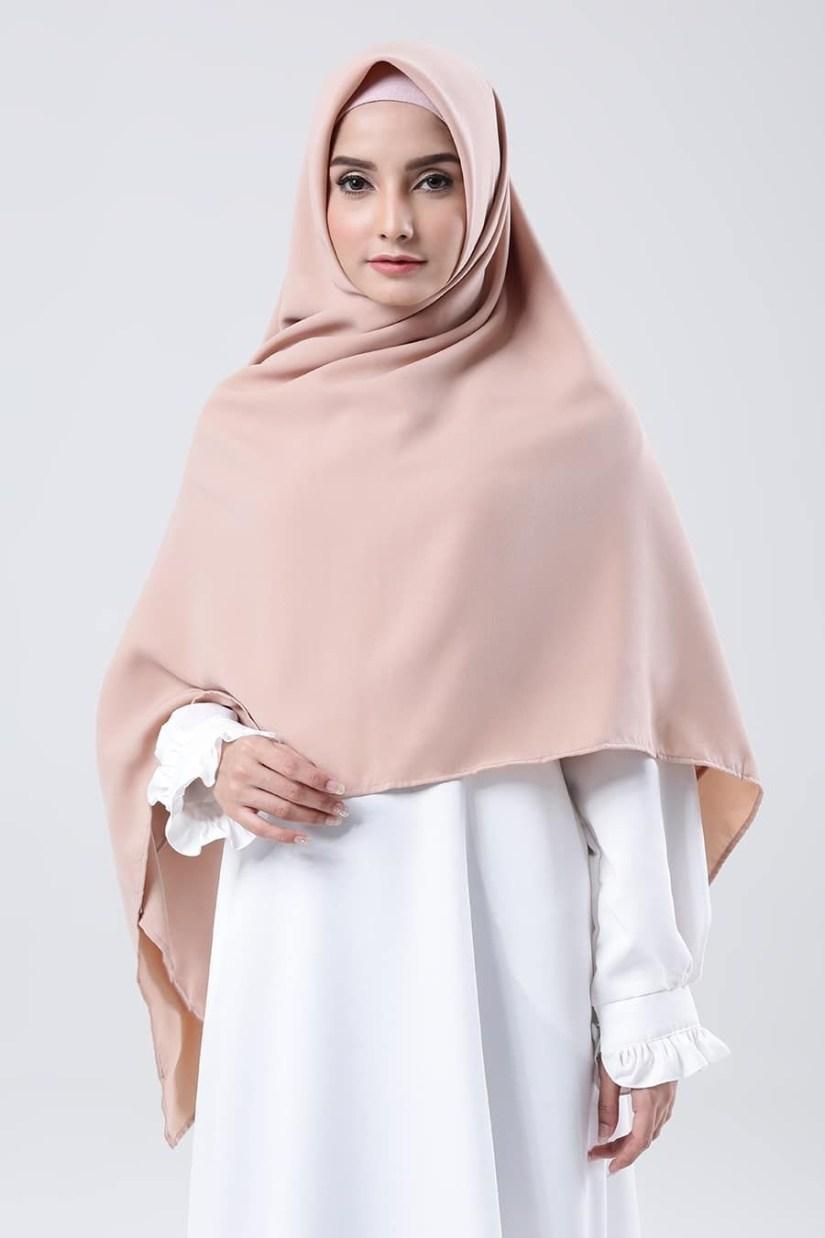 Hijab syar'i tutorial yang lebar
