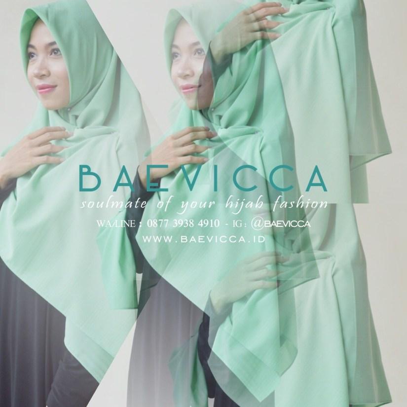 Hijab syar'i tutorial yang mudah