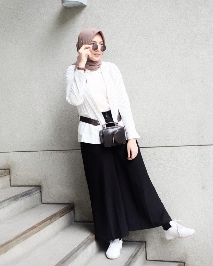 Style baju hijab simple yang modern