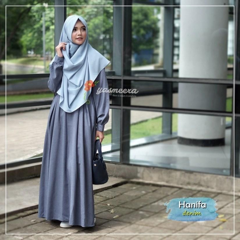 Style baju hijab simple yang tetap syari