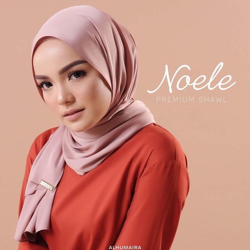 tutorial hijab pashmina satin yang mudah