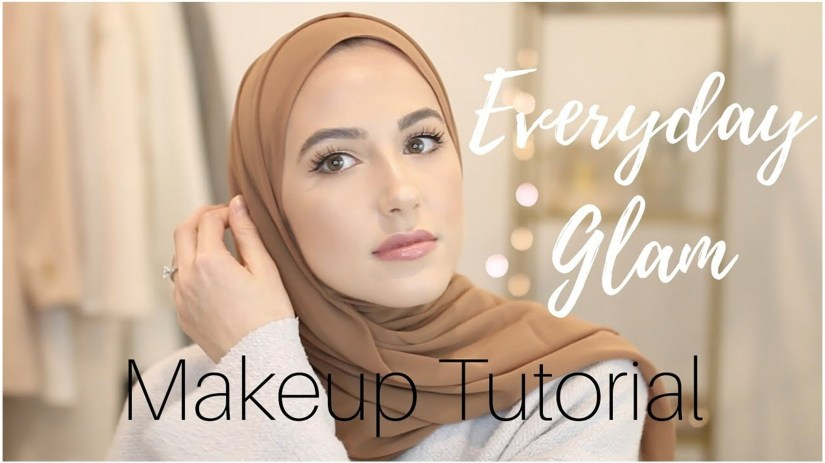 Tutorial make up natural hijab yang soft
