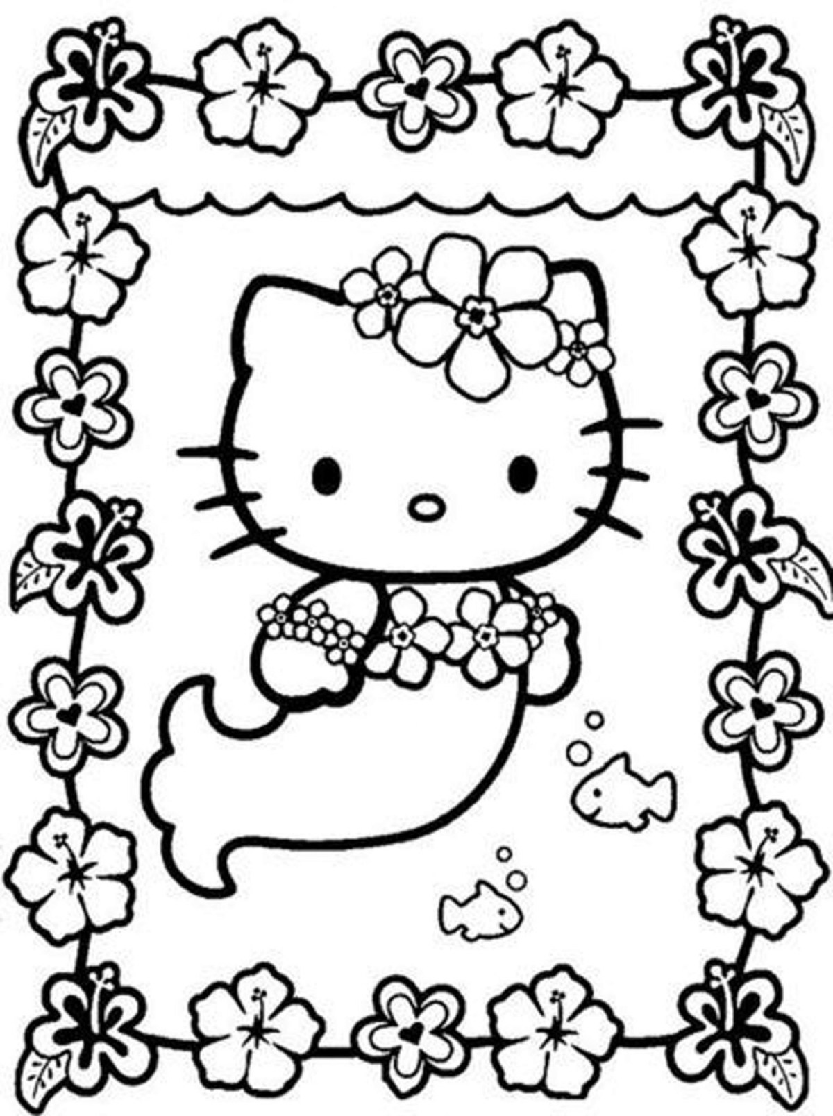 hello kitty coloring pages for girls bestappsforkids