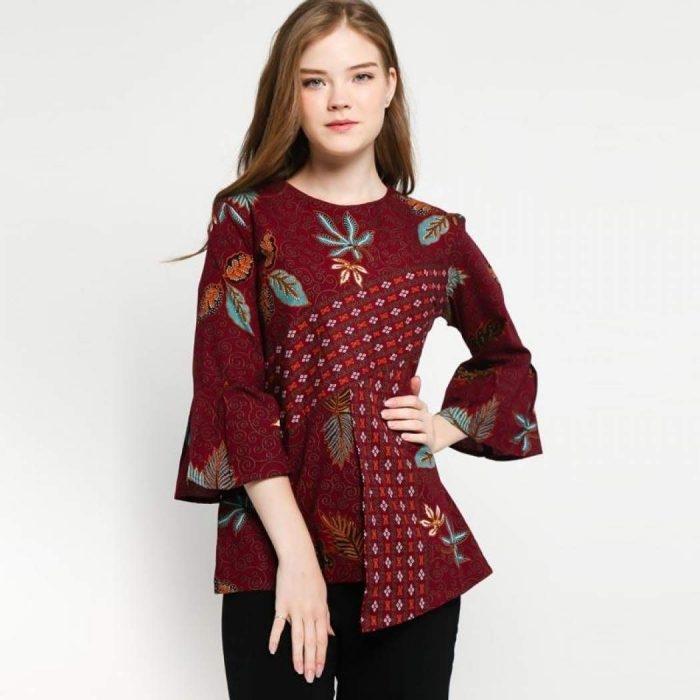 49 model baju batik paling populer