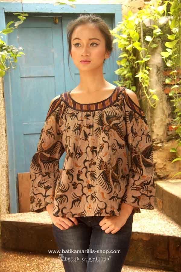 batik amarilliss painters blouse 2 revamped more comfy