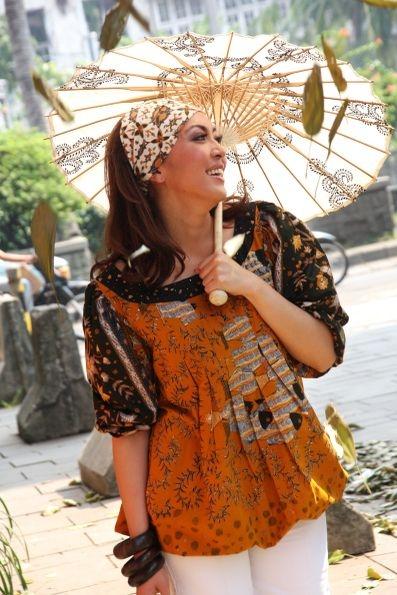 batik booming model pakaian kain model
