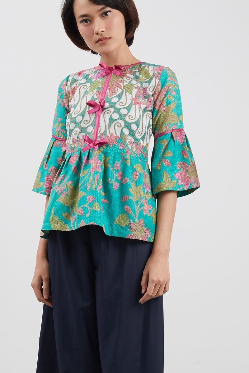 blus do p lira pita pb batik dengan gambar blus