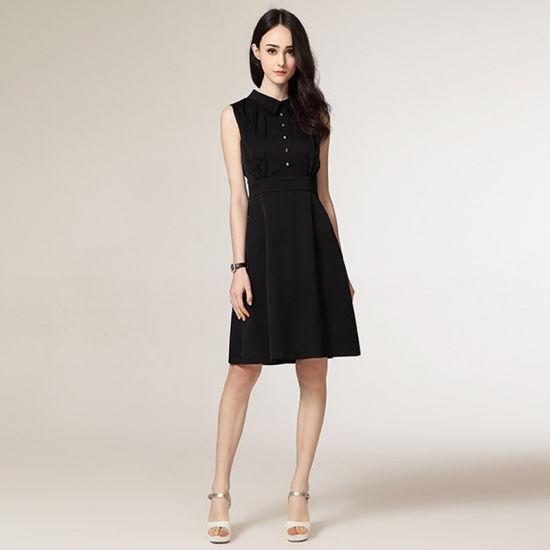 china latest office wear designs sleeveless formal